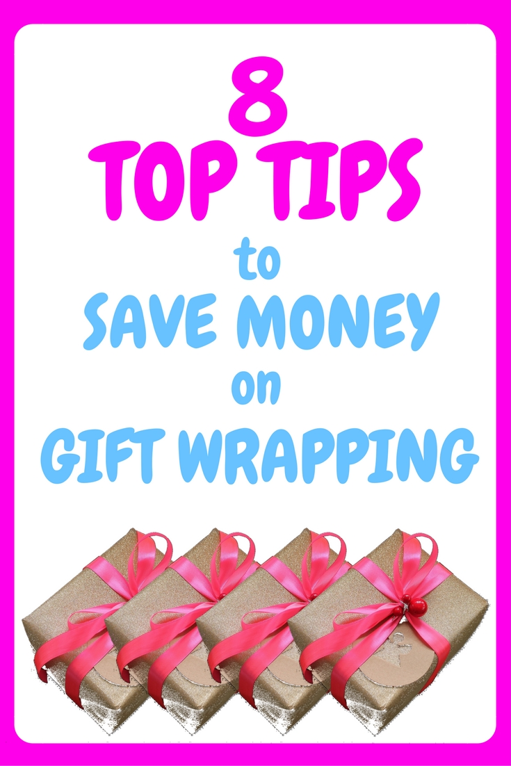 8 top tips to save money of gift wrapping, save, saving, save money, saving money, christmas, xmas, gift wrap, gift wrapping, wrapping paper