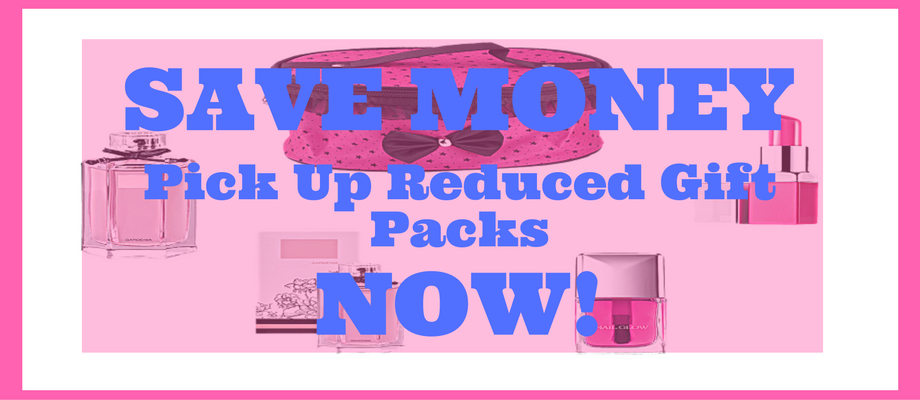 Save Money - Pick Up Reduced Gift Packs NOW!