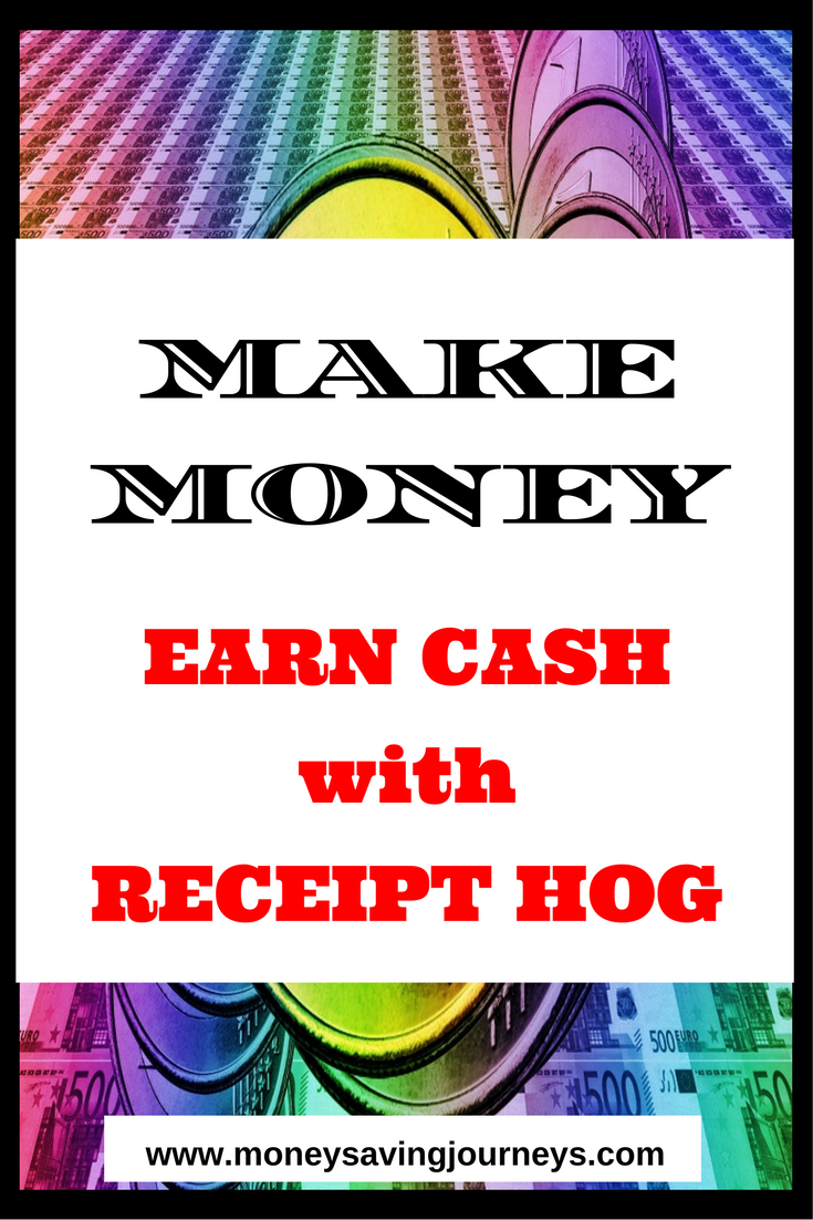 EARN CASH with Receipt Hog