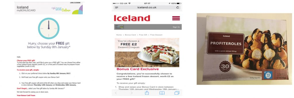 Get Free Food with an Iceland Bonus Card