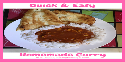 Quick & Easy Homemade Curry