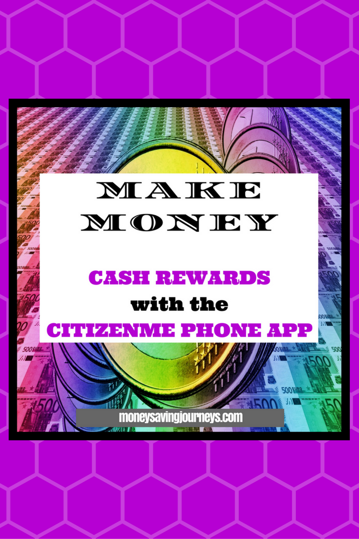 Cash Rewards with the citizenme Phone App