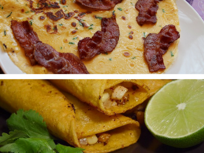 Pancake Day - Easy Recipe and Topping Ideas - Savoury