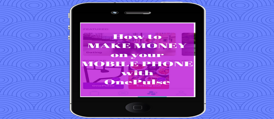 Make Money with OnePulse01