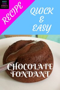 chocolate, recipe, quick and easy, homemade, chocolate fondant, dariole moulds, food, cake, pudding, dessert