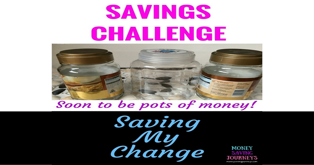 Savings Challenge - Saving My Change