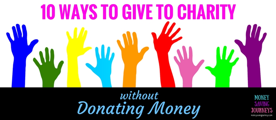 Give to charity, donating, saving money, save money, money saving, volunteer, volunteering, oxfam, RNIB, Trussell Trust, food bank, little princesses, donate your hair, donate your car, charity car, give a car, community repaing, donate paint, knitted breasts, tag your bag, marks and spencers, M&S, fonebank, dress a girl around the world, pets as therapy
