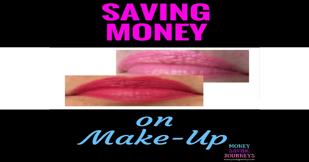 lipstick, make up, saving money, poundland, money saving, bargain, saving money on make-up