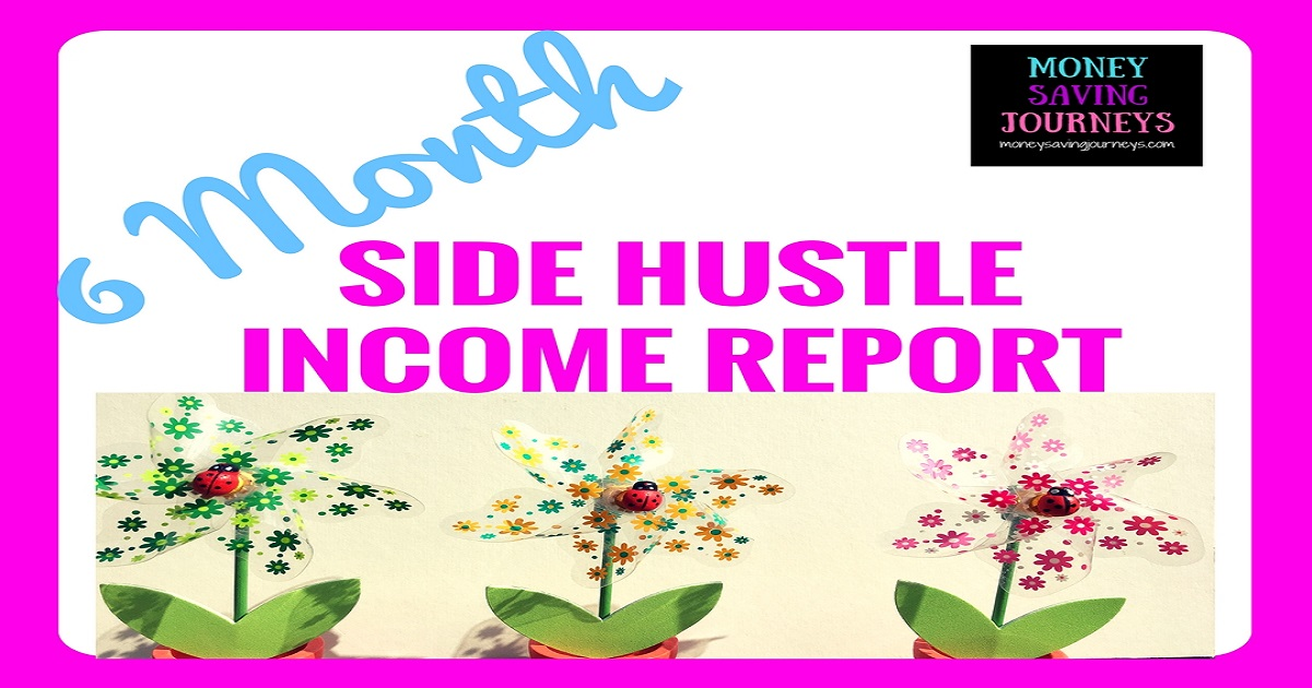 side hustle, income report, blogger, blog, blogging, money maker, making money