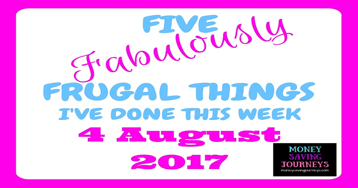 Five Frugal Things, frugal, money saving, Saving, save, save money, lifestyle blogger, finance blogger, frugal blogger, uk money bloggers
