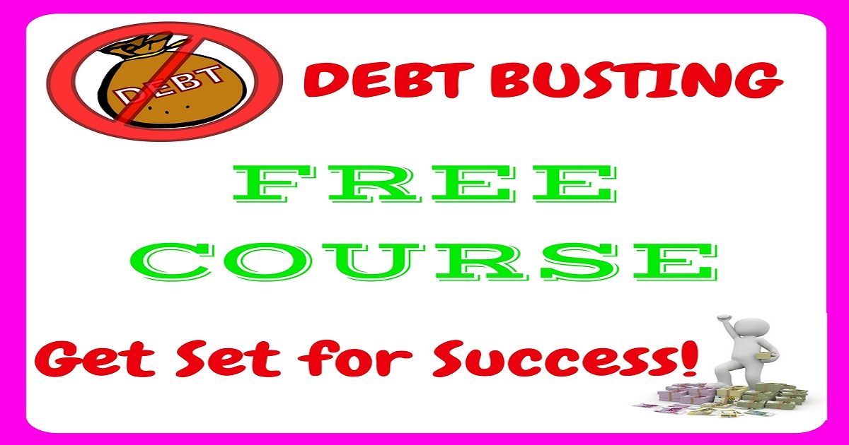 debt, debt busting, tackle debt, debt free, deal with your debt