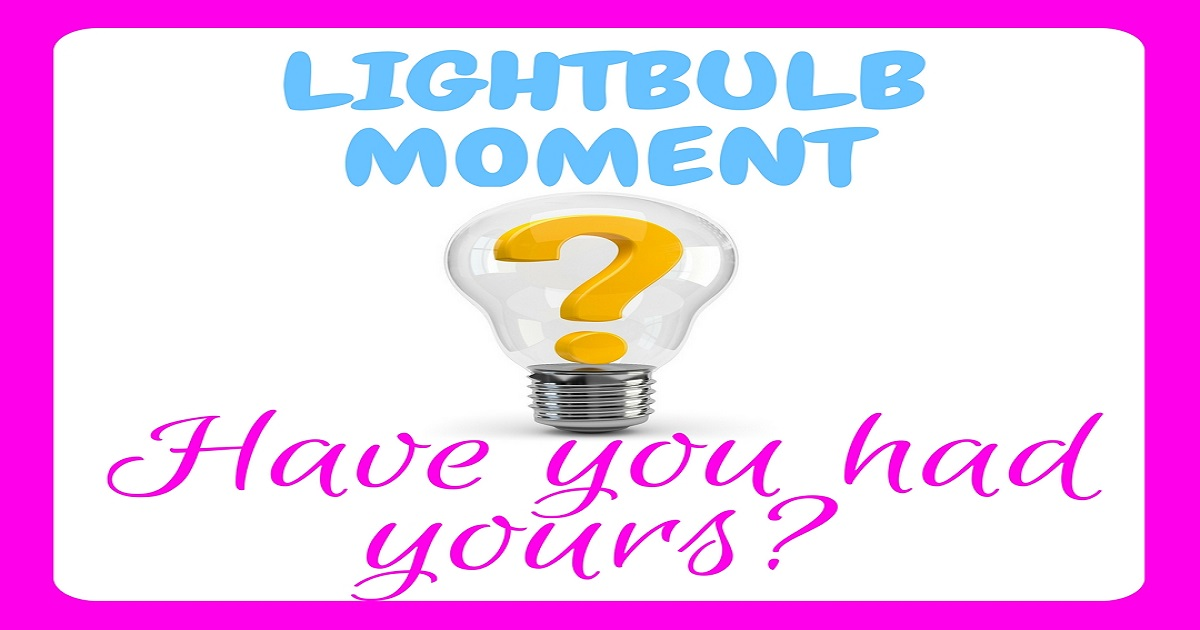 lightbulb moment, debt, debt free, debt repayment, financial freedom, repay debt, debt busting