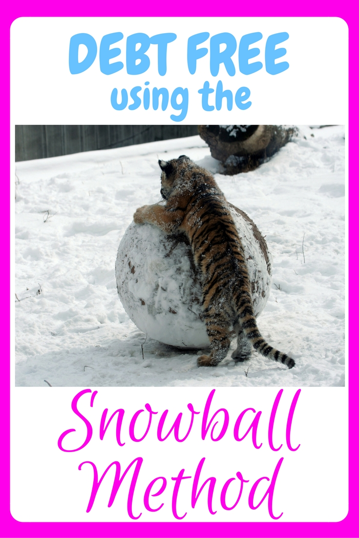 snowball, snowball method, debt, debt free, debt freedom