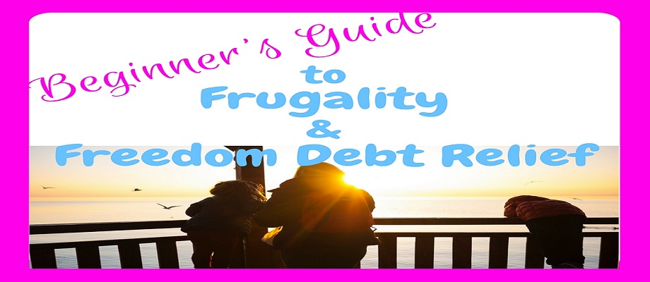 The Beginners Guide to Frugality & Debt Relief