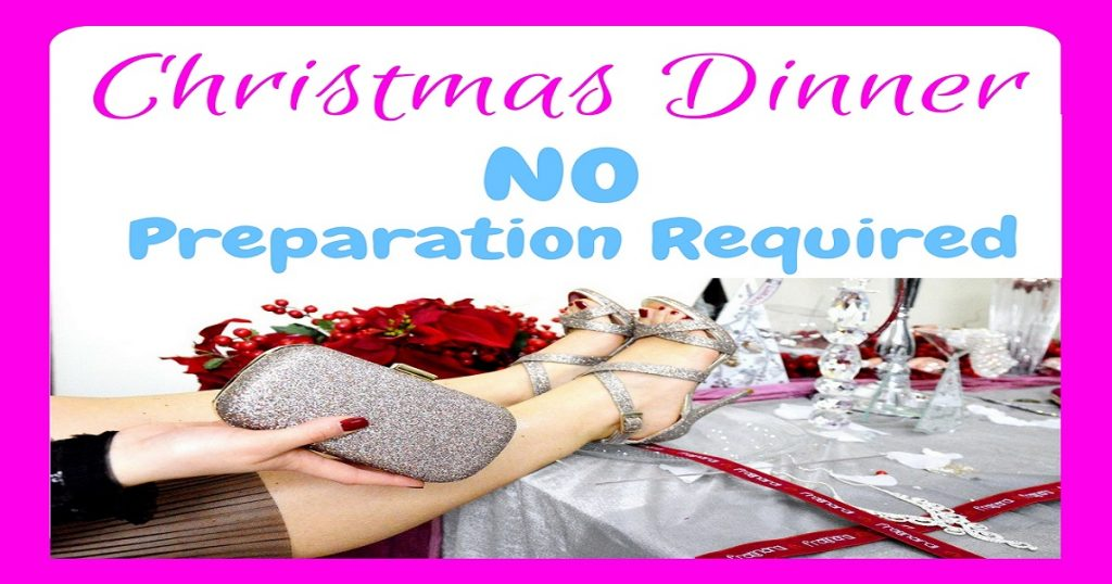 christmas dinner - no preparation required, christmas dinner, christmas food, iceland foods, frozen food, meal plan