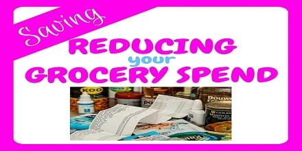 Reducing your grocery spend