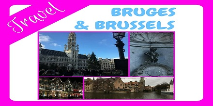 3 night minicruise to brussels and bruges, belgium - image of the grand place, the manneken pis, the markt, a canal in bruges