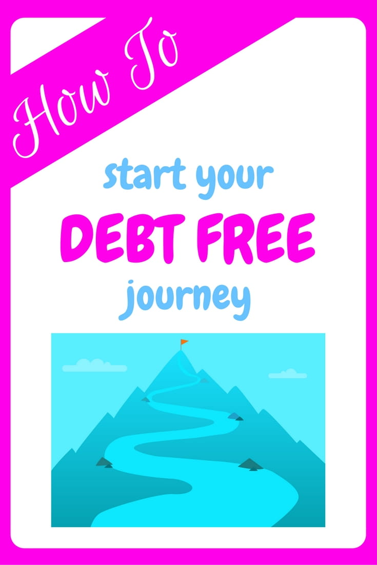 how to start your debt free journey