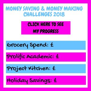 Image showing the four challenges I am doing. Clicking the link will take you to a page with all the details.