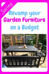 How to revamp your garden furniture on a budget