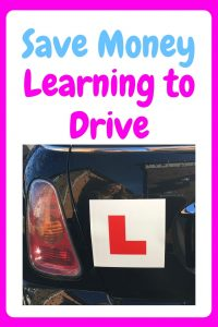 Save Money Learning to Drive